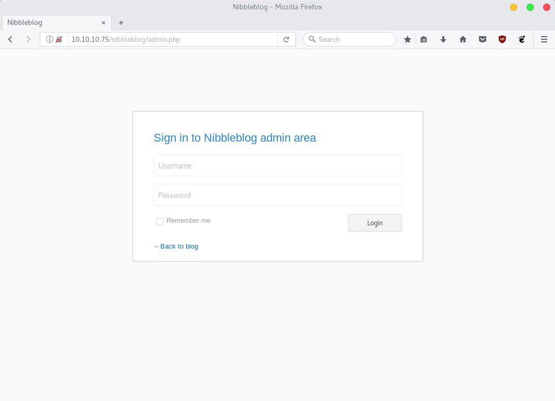 nibblesblog-admin