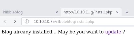 nibblesblog-install