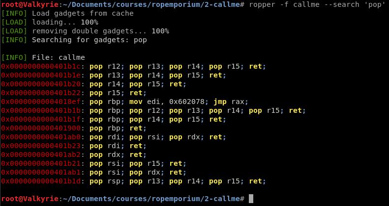Finding ROP Gadgets